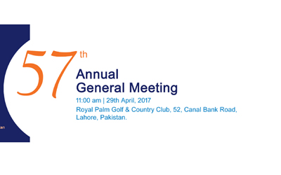 Notice of 57th Annual General Meeting