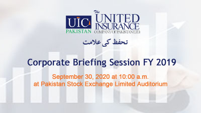 Annual Corporate Briefing Session FY – 2019